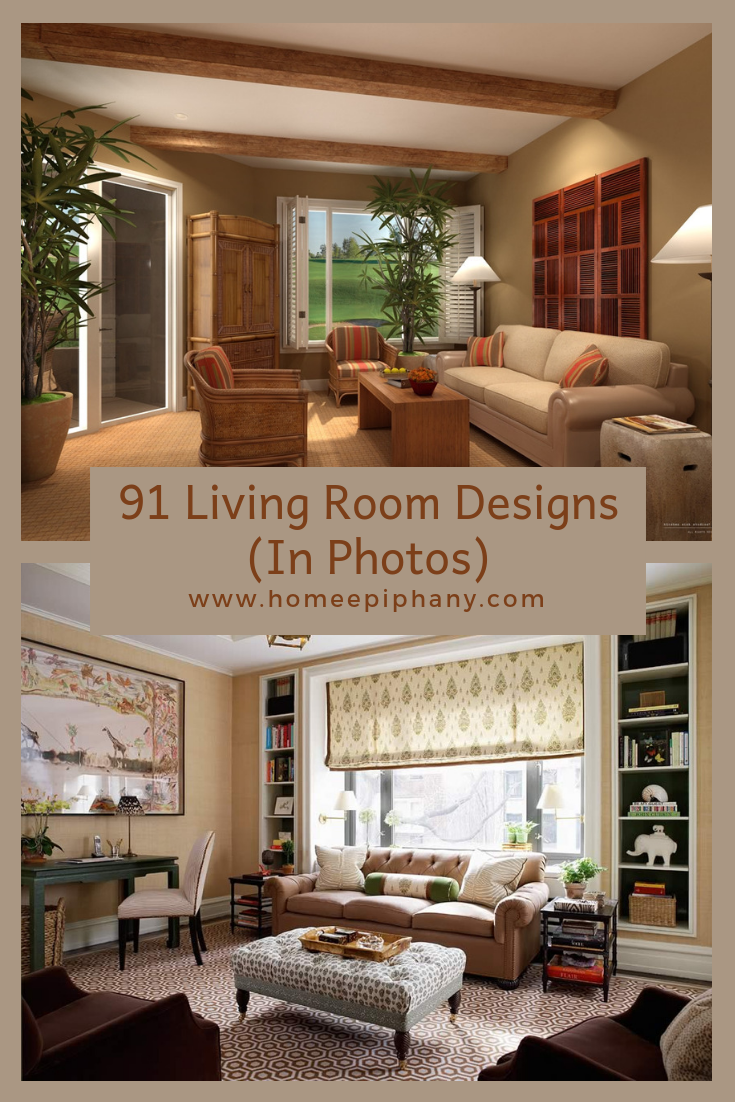 91 Design Ideas For Casual And Formal Living Rooms ...