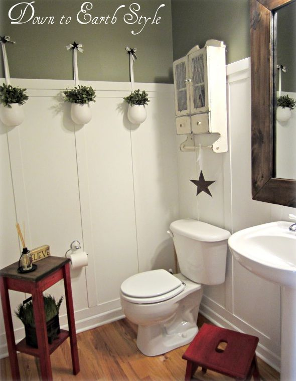 Christmas Small Bathroom Decorating Pictures