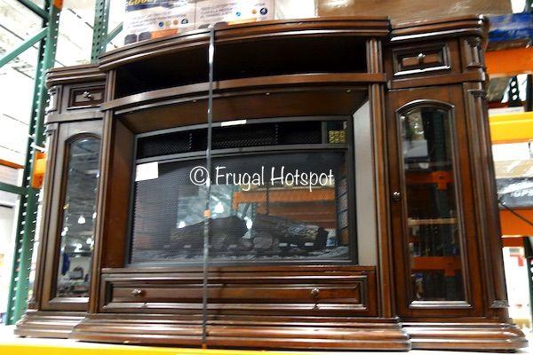 Costco Sale Ember Hearth Electric Media Fireplace 449 99 Muebles Para Pantallas Compras Y