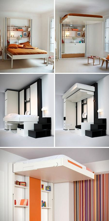 italian furniture small spaces. Created By The Italian Furniture Maker Espace Loggia, These \u201cElevator Beds\u201d Look Just Small Spaces A