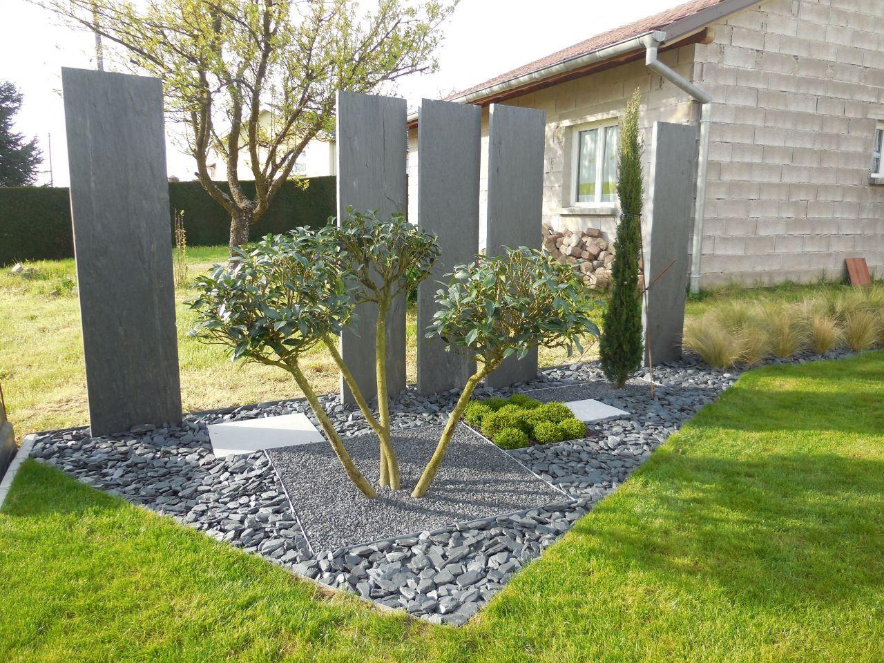 aménagement en limite est | extérieur | pinterest | jardins