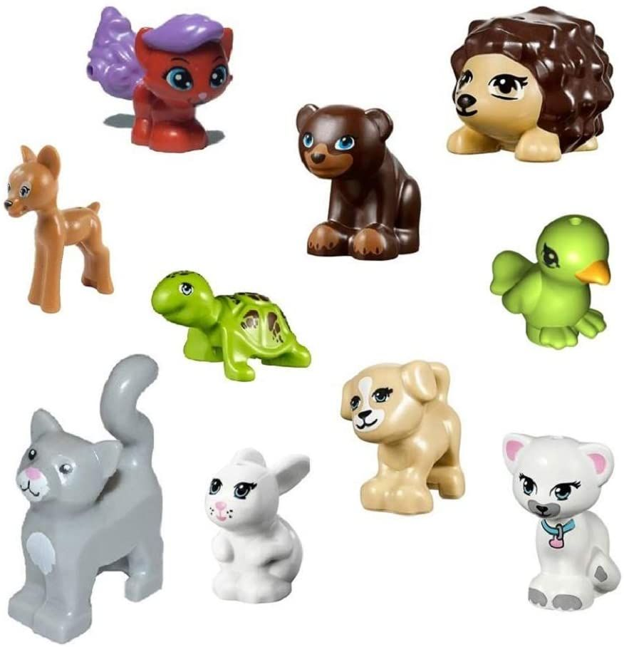 Lego Lot Of 10 Friends Animals Dogscats Turtle More In 2020 Lego Girls Lego Friends Animal Activities