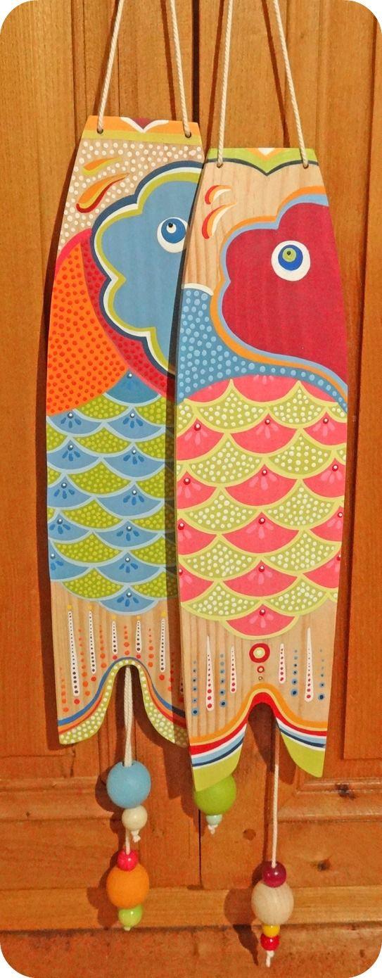 Koinobori koi fish kite idea