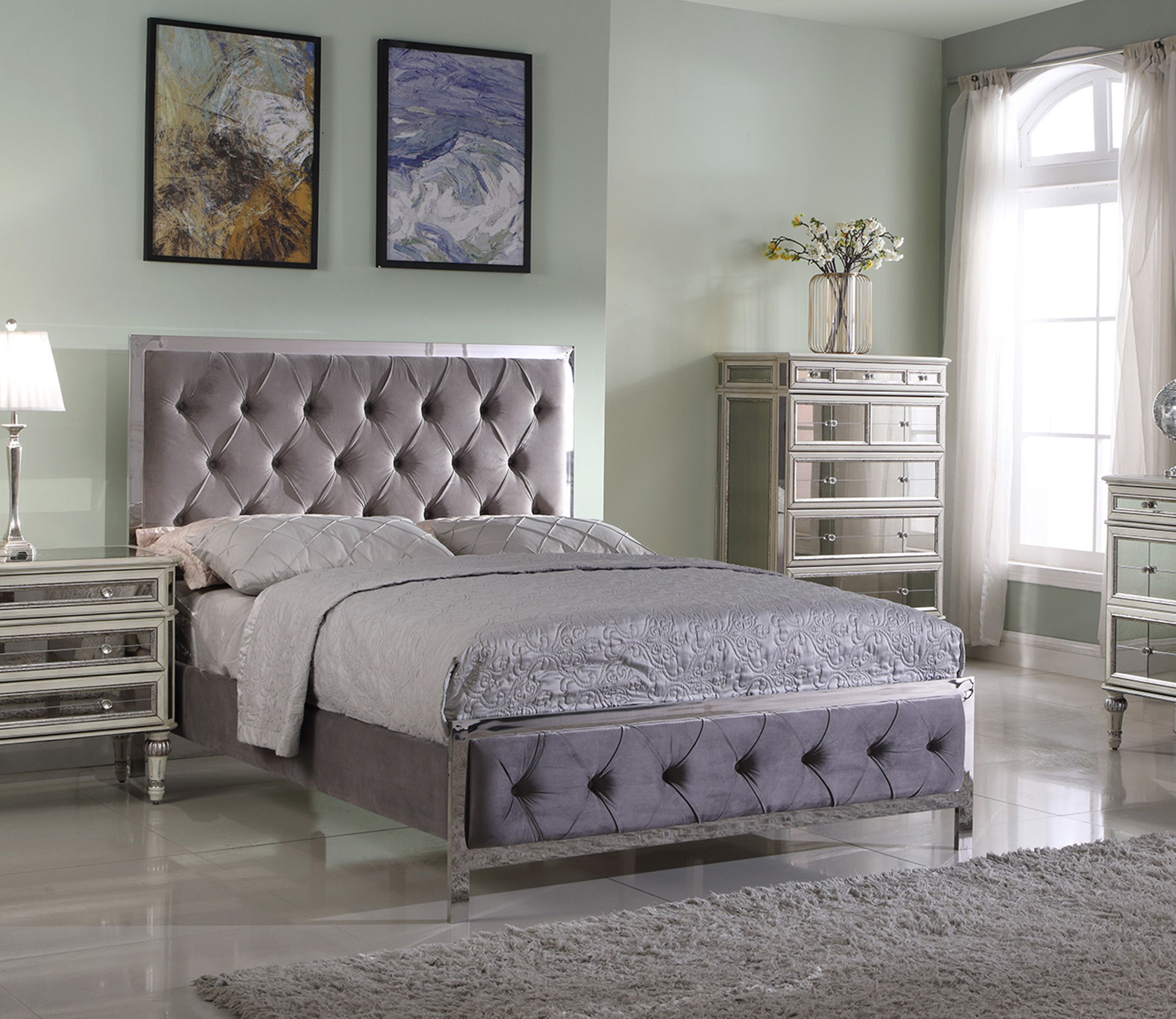 Add class and sophistication into any bedroom with this