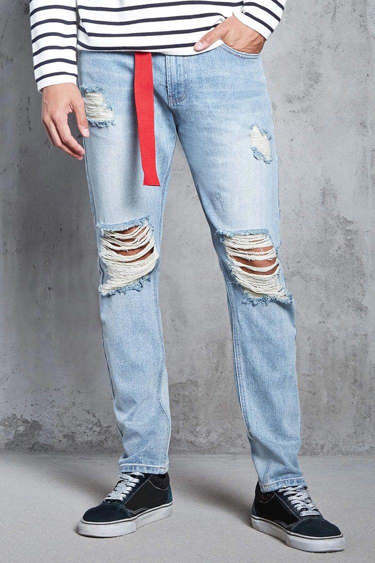 Jeans Slim Fit Rotos Hombre Pantalones Bermudas Jeans 2000108672 Forever 21 Eu Espanol Latest Trends Slim Fit Jeans Jeans