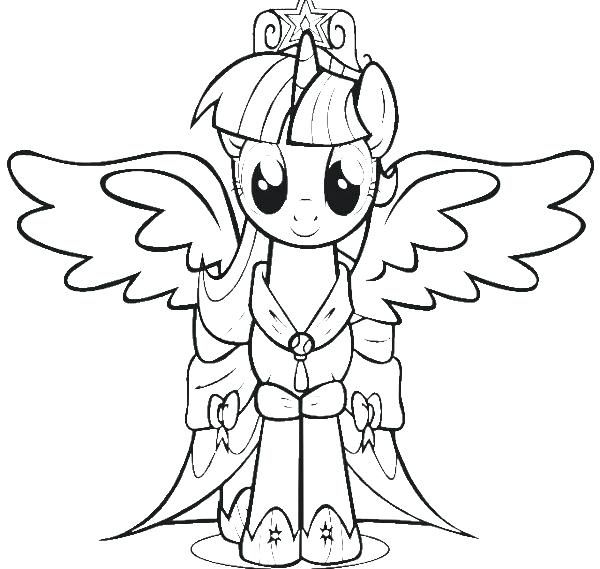 my little pony twilight sparkle printable coloring pages new page - copy paw patrol coloring pages