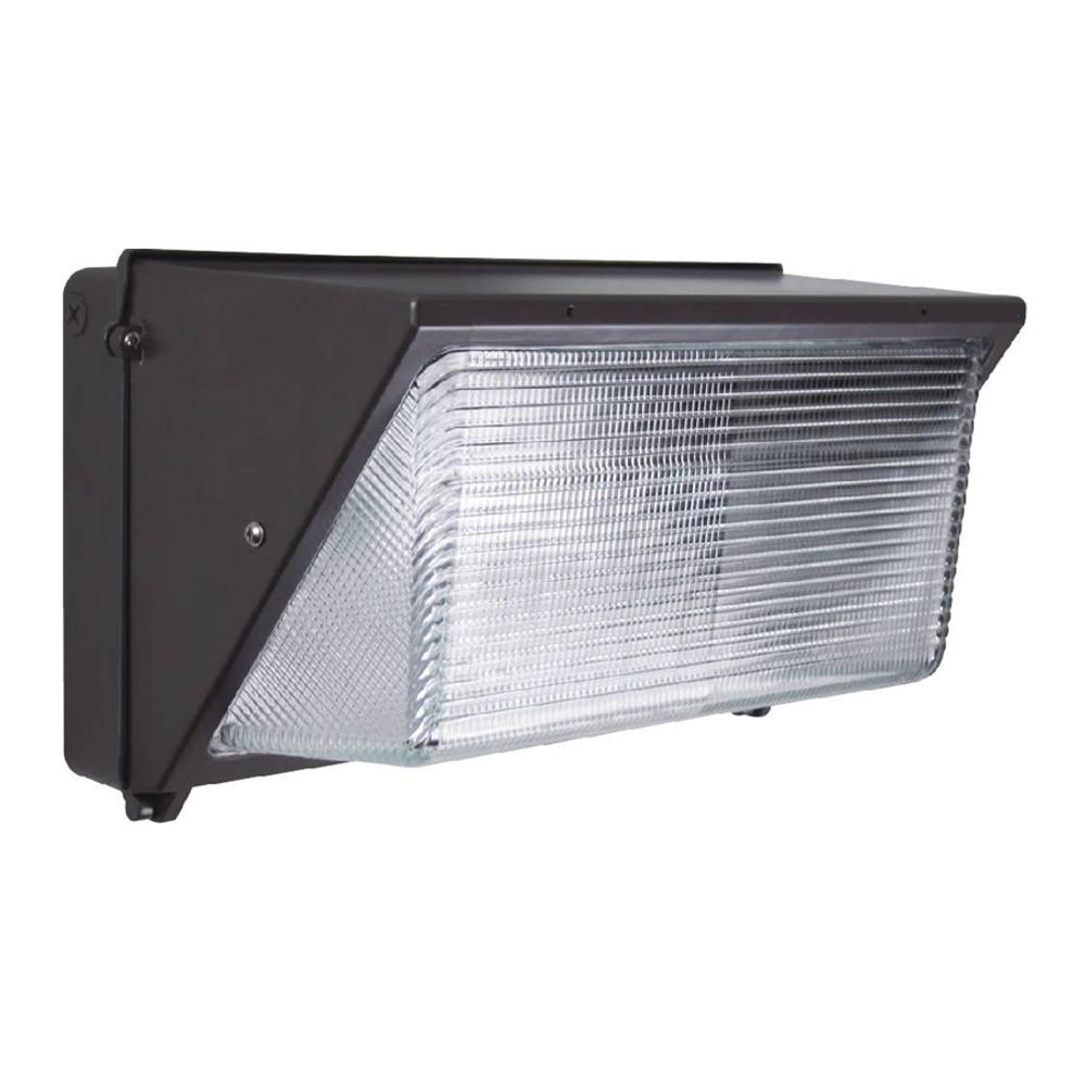 Innoled 60 Watt Charcoal Black Integrated Led Wall Pack Light 5700k With Photocell Wk 60w S Outdoor Lighting Outdoor Walls Wall Lantern