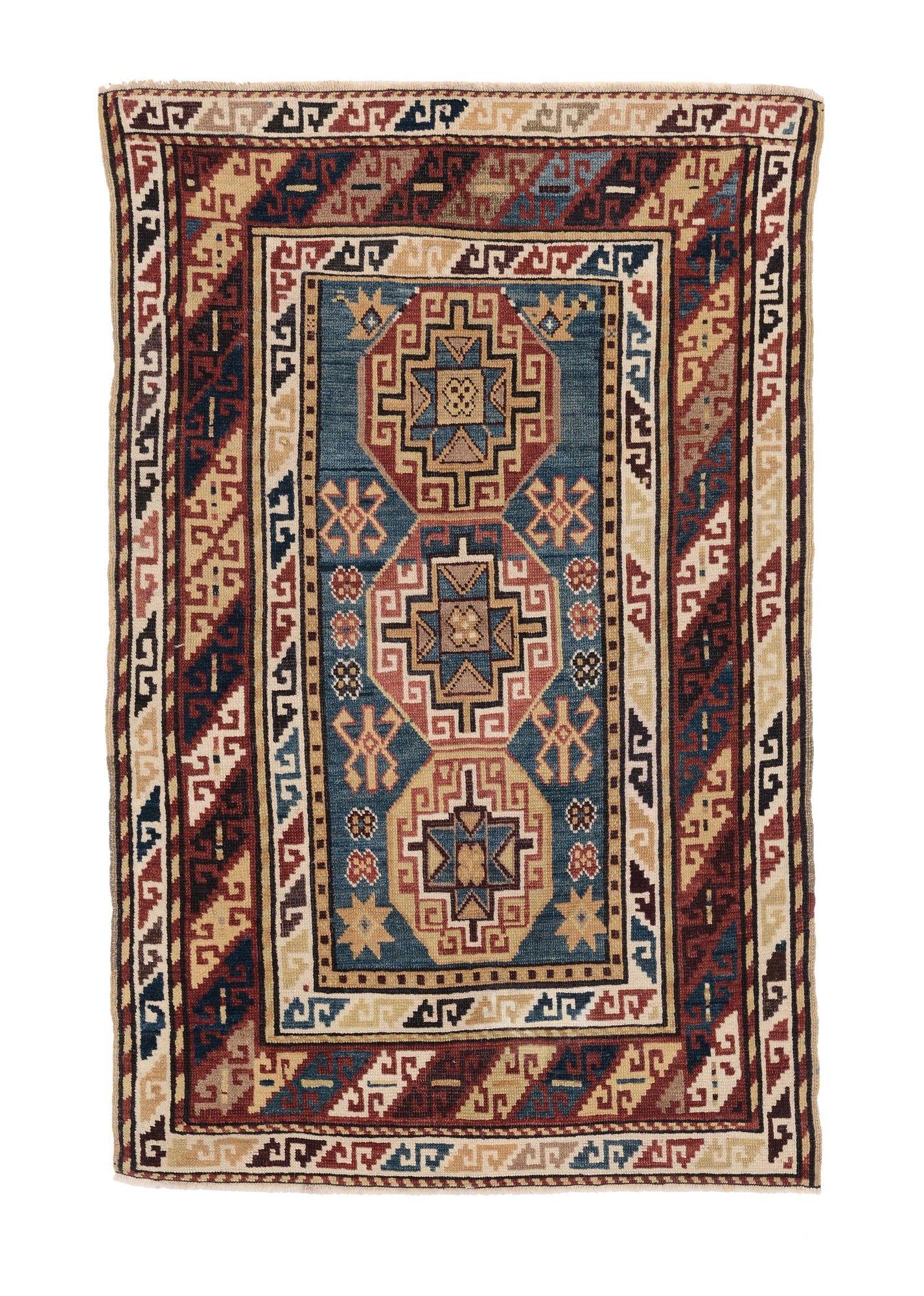 Tappeto caucasico Kasak fine XIX secolo, from cambi casa d'este
