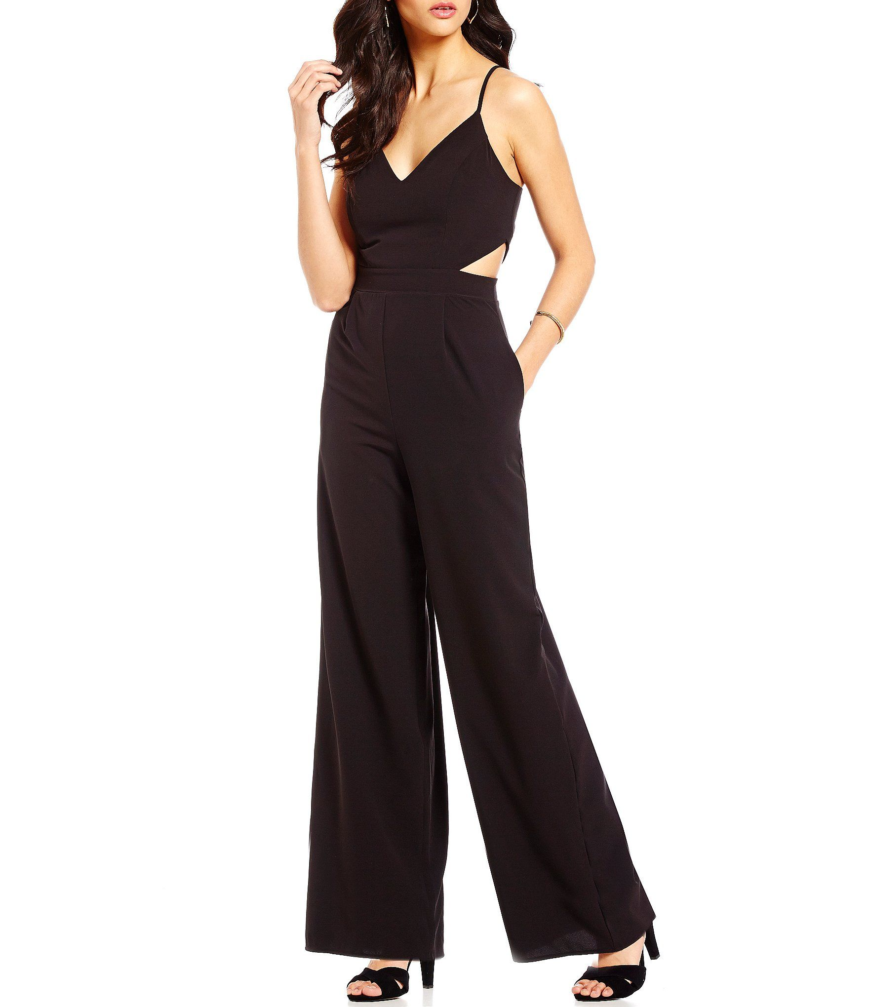 1dd65bbf04 Shop for GB Cutout Wide Leg V-Neck Jumpsuit at Dillards.com. Visit  Dillards.com to find clothing