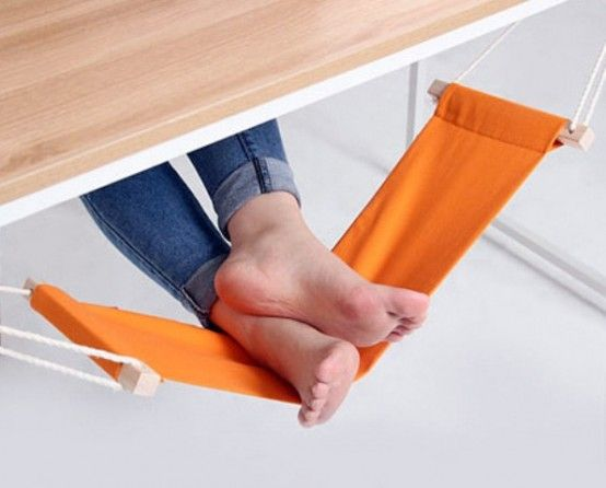 Little Fuut Hammock For Relaxing At Your Workplace   DigsDigs