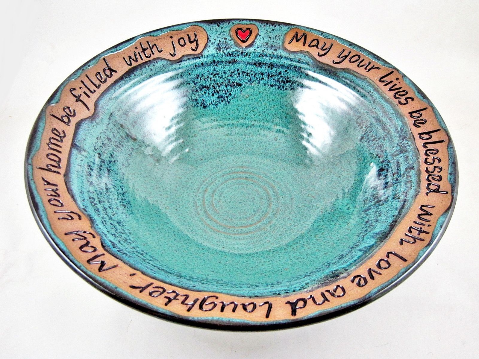 Wedding Blessing Bowl Pottery Wedding Bowl In Stock 214 Wb