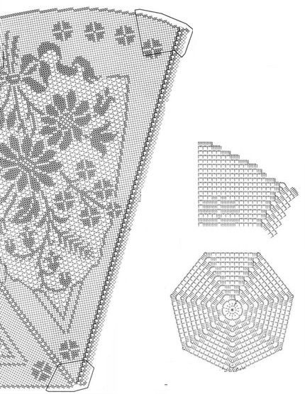 18 Manteles a Crochet - Patrones Gratis - Manualidades Y ...