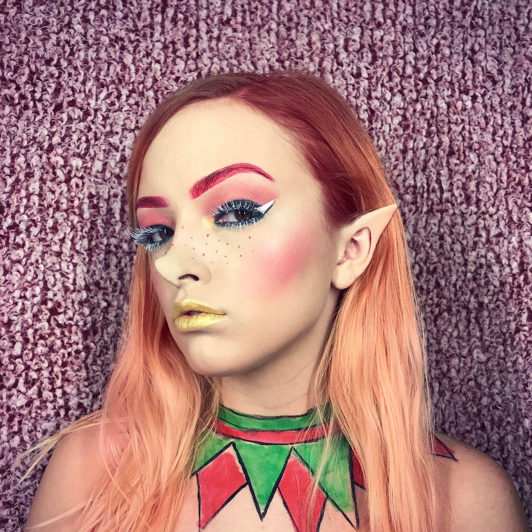 Elf 🧝♀️ makeup mua makeupartist christmas