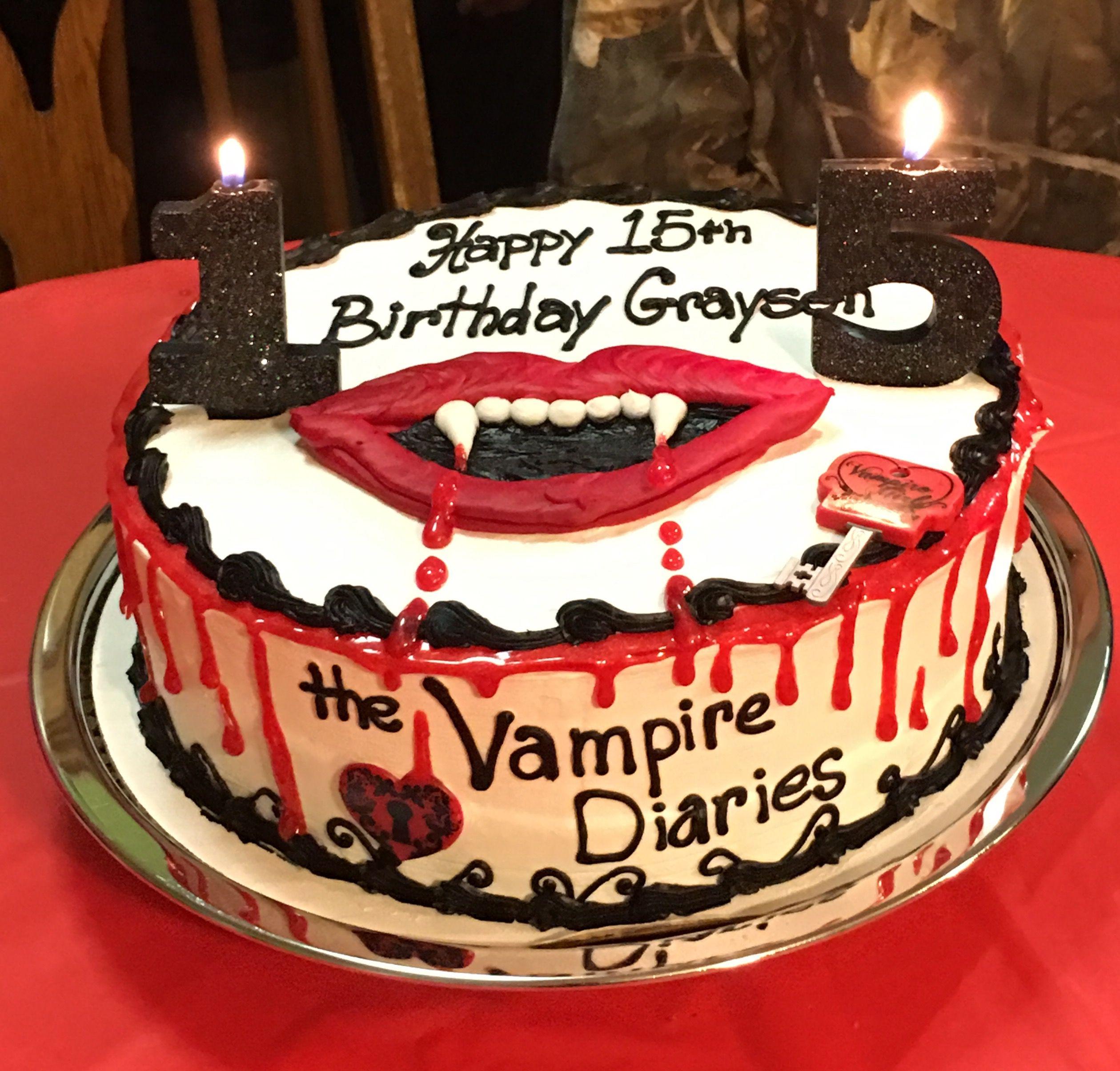 Поздравление вампира на дне рождении