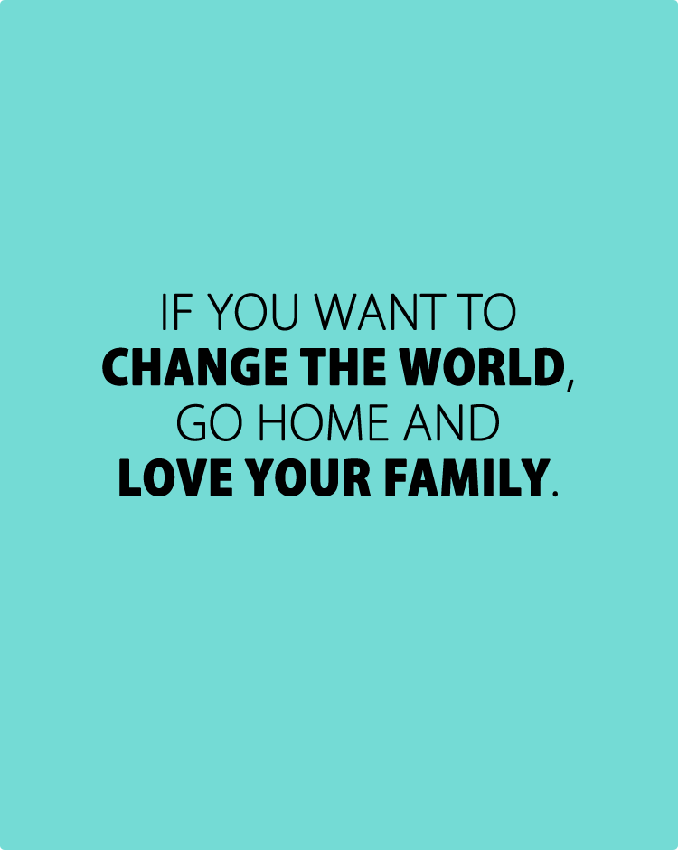 40 Beautiful and Inspirational Family Quotes with Images ...