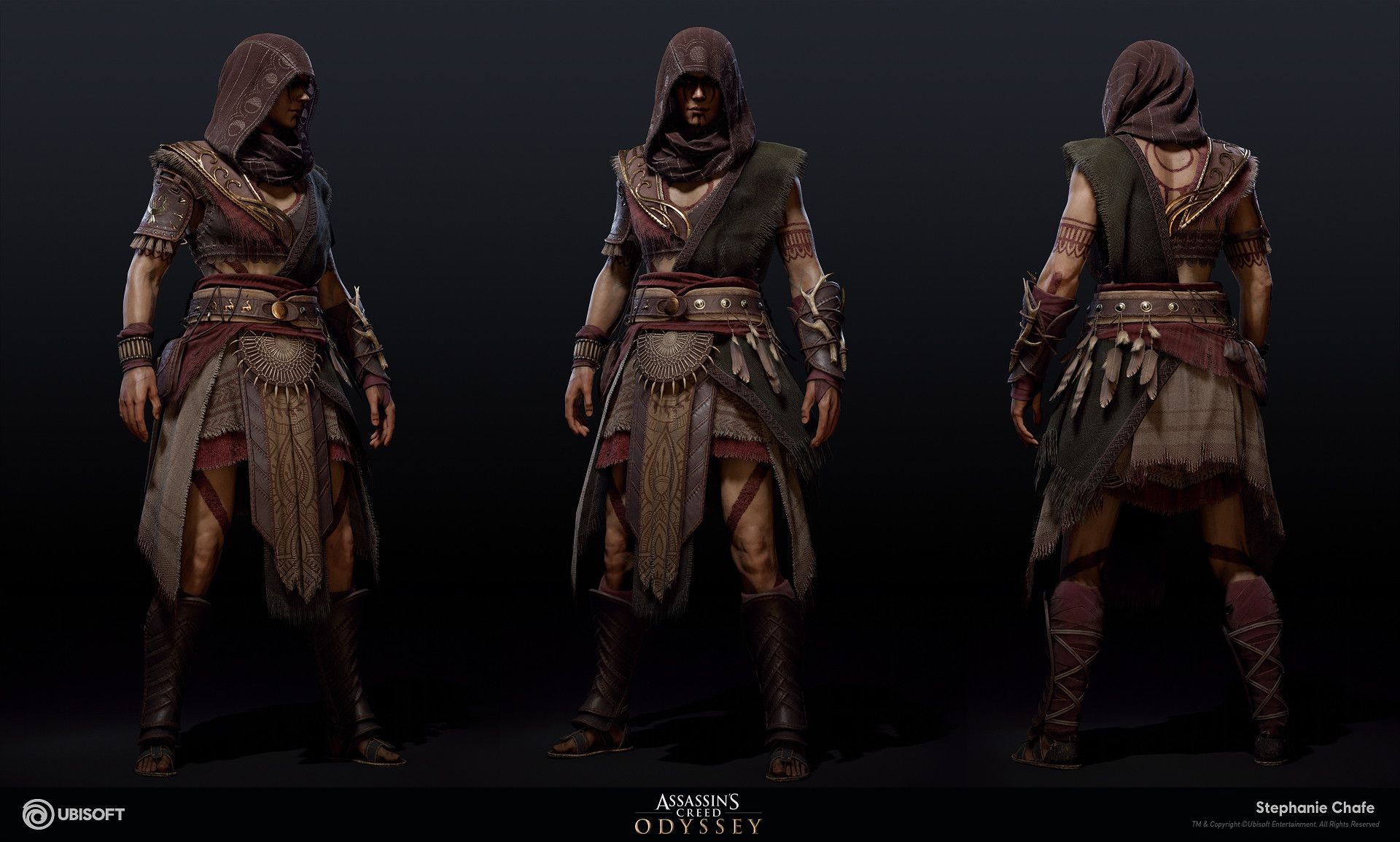Artstation Hunter Suit Assassin S Creed Odyssey Stephanie