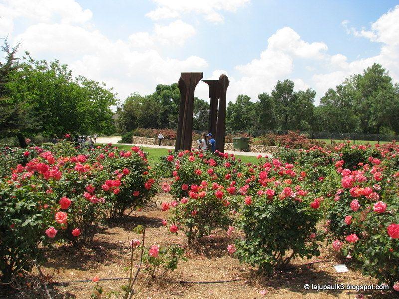 Wohl Rose Park Jerusalem Garden Arch Outdoor Outdoor Structures
