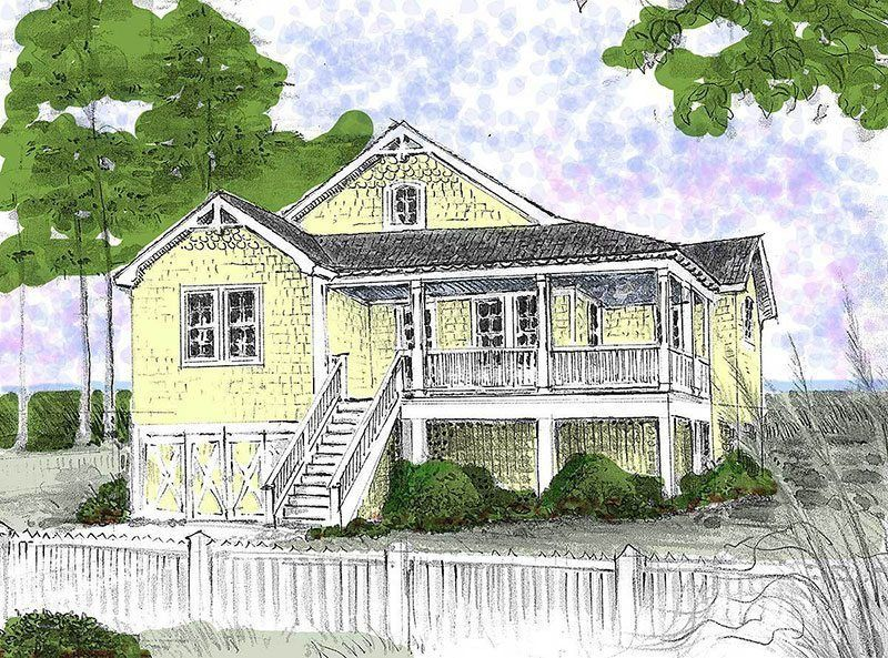 Endless Summer   Beach house plans, Vacation house plans ...