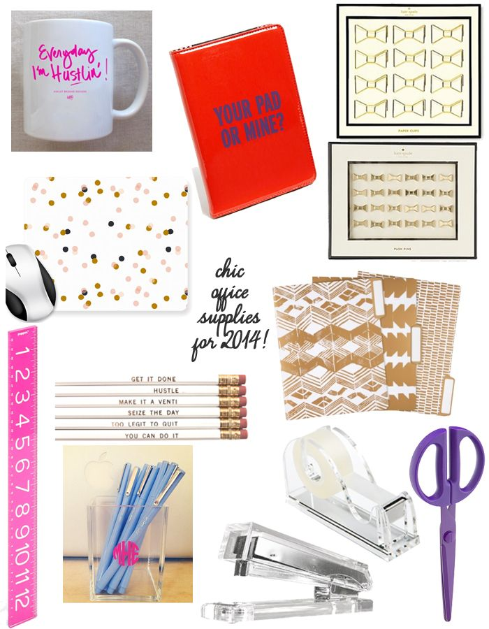 Chic Office Supplies For 2017 I Love Really Do Addicted