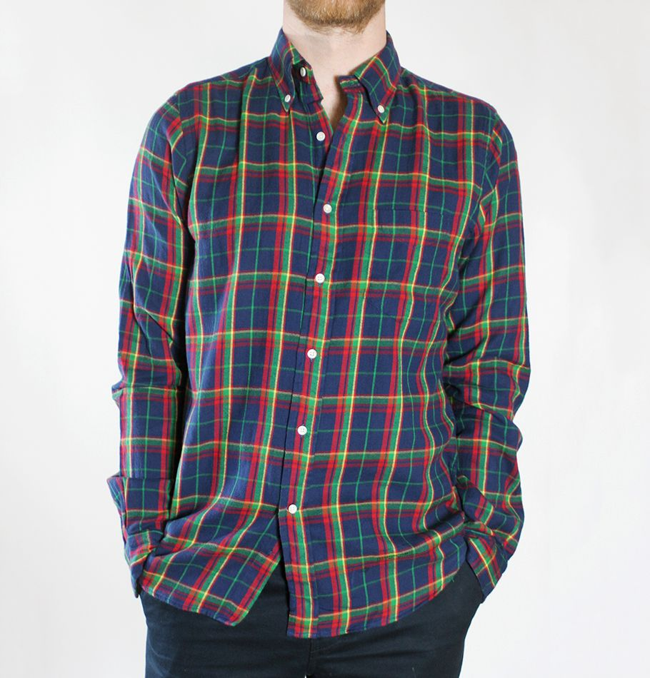 Gant Rugger Windblown Flannel Shirt at HUH. Store
