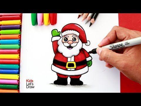 1001 Ideas De Dibujos Navidenos Para Colorear Papa Noel