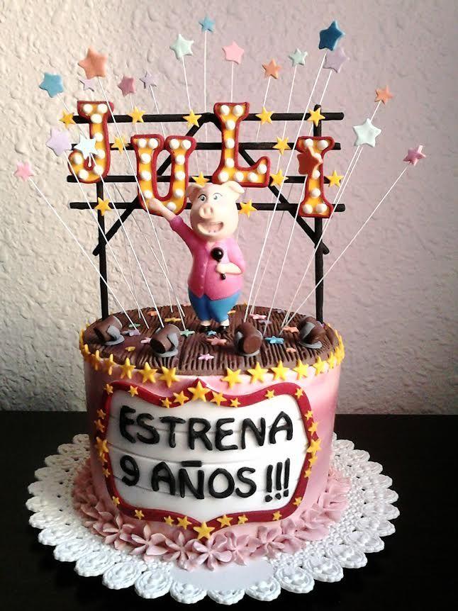 Sing Movie Cake Valeria S 3rd 5th Birthday Cake Movie Cakes