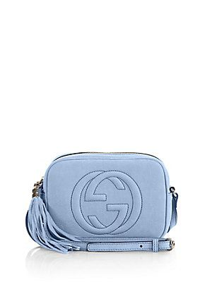 c686172ebf31 Gucci Soho Nubuck Leather Disco Bag
