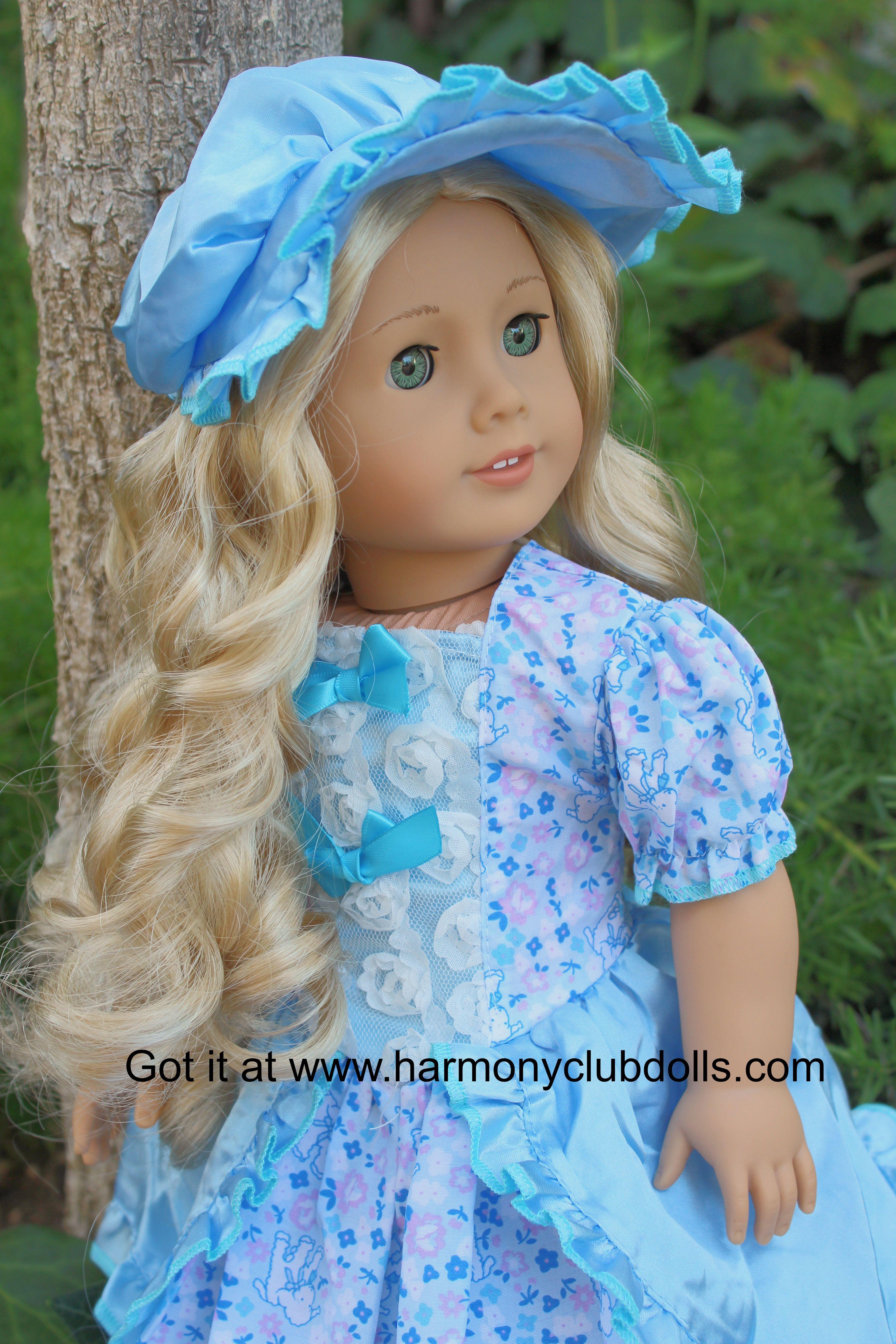 """HARMONY CLUB DOLLS 18"""" Doll clothes www.harmonyclubdolls.com"""