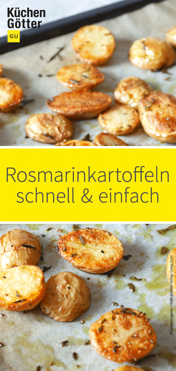 Photo of Die Rosmarinkartoffeln sind ein würziges Gericht das ihr Solo essen könnt, ode…