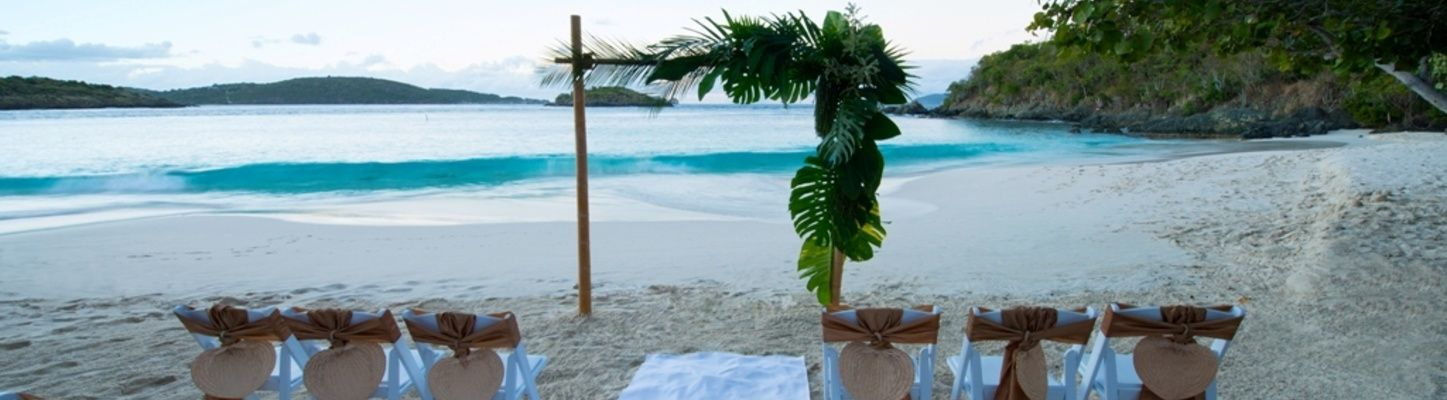 Breathtaking Beach Wedding At Caneel Bay St John United States Virgin Islands The Perfect Venue For Your Destination Visit Caneelbay