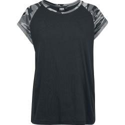 Photo of Urban Classics Ladies Contrast T-Shirt Urban Classics