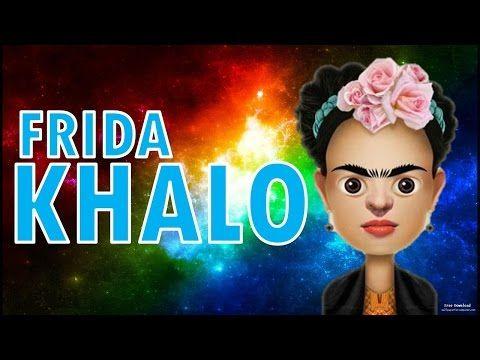 Frida Kahlo Para Ninos Biografia De Frida Kahlo Arte Espanol Frida Kahlo Caricatura