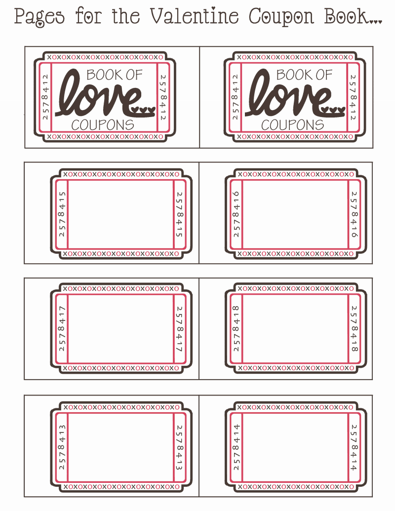 love coupons templates
