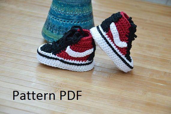 Crochet vans pattern vans crochet shoes | Crochet shoes, Crochet ...