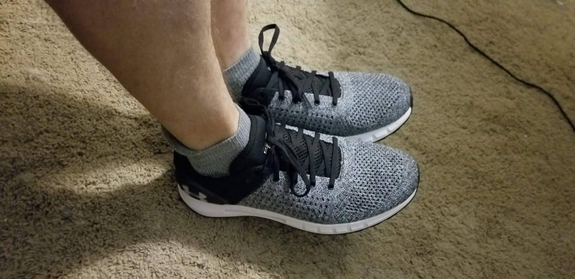 The Underarmour Hovr Sonic Is Road Worthy And I Think It S Certainly Worth A Trip To Your Nearest Running Shop Under Armour Running Shoe Reviews Geek Fitness