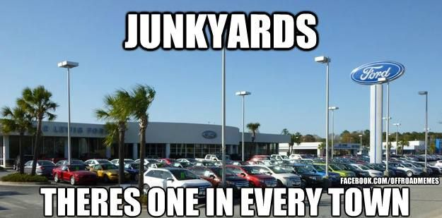 Well At Least Burnsville Got Rid Of Their Junkyard Anti Ford