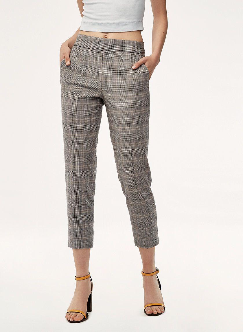 брюки женские по щиколотку фото отличии