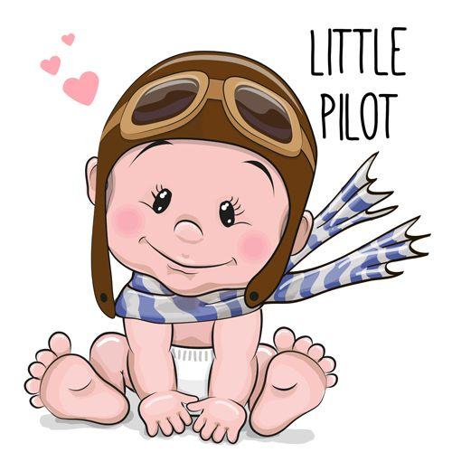 Cartoon Little Baby Vector Material 01 Vector Cartoon Vector People Free Download Baby Drawing Baby Cartoon Baby Boy Art