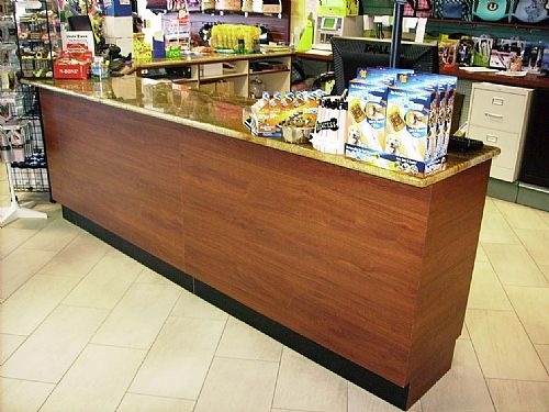 Sales Counter With Granite Top From Handy Store Fixtures Retail