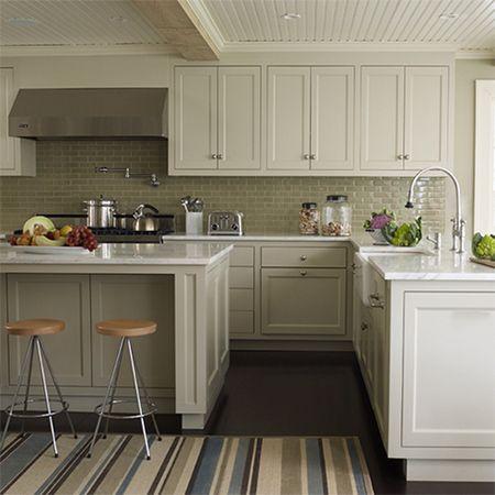 Best Plain White Melamine Kitchen Goes Coastal Shaker Frame 640 x 480