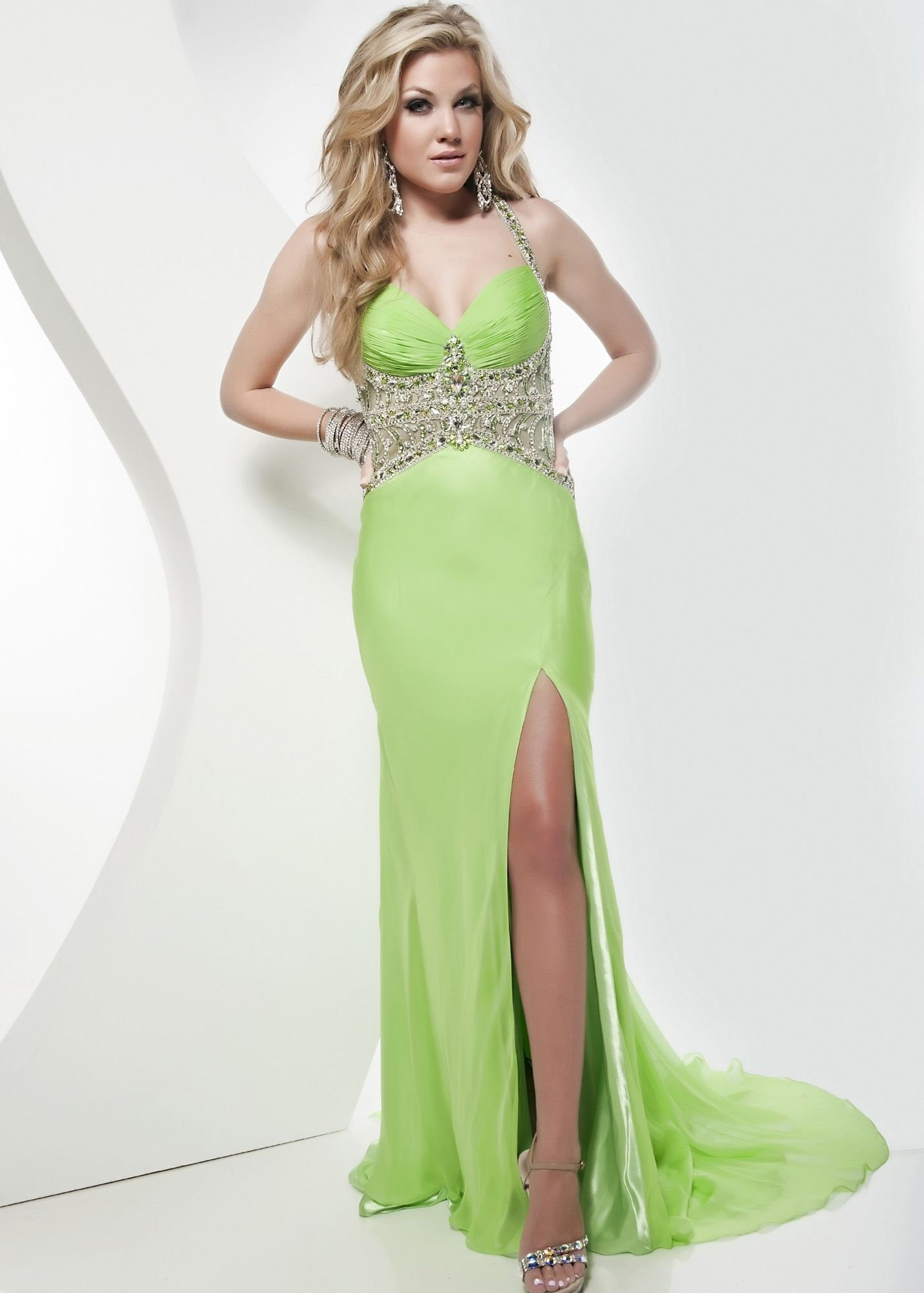 1000  images about Dresses on Pinterest  Lime green dresses Pink ...