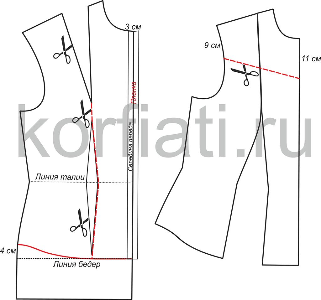 ceñido patrón de la camisa | Estilos informales | Pinterest