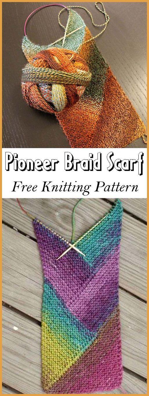 Photo of Pioneer Braid skjerf – gratis mønster