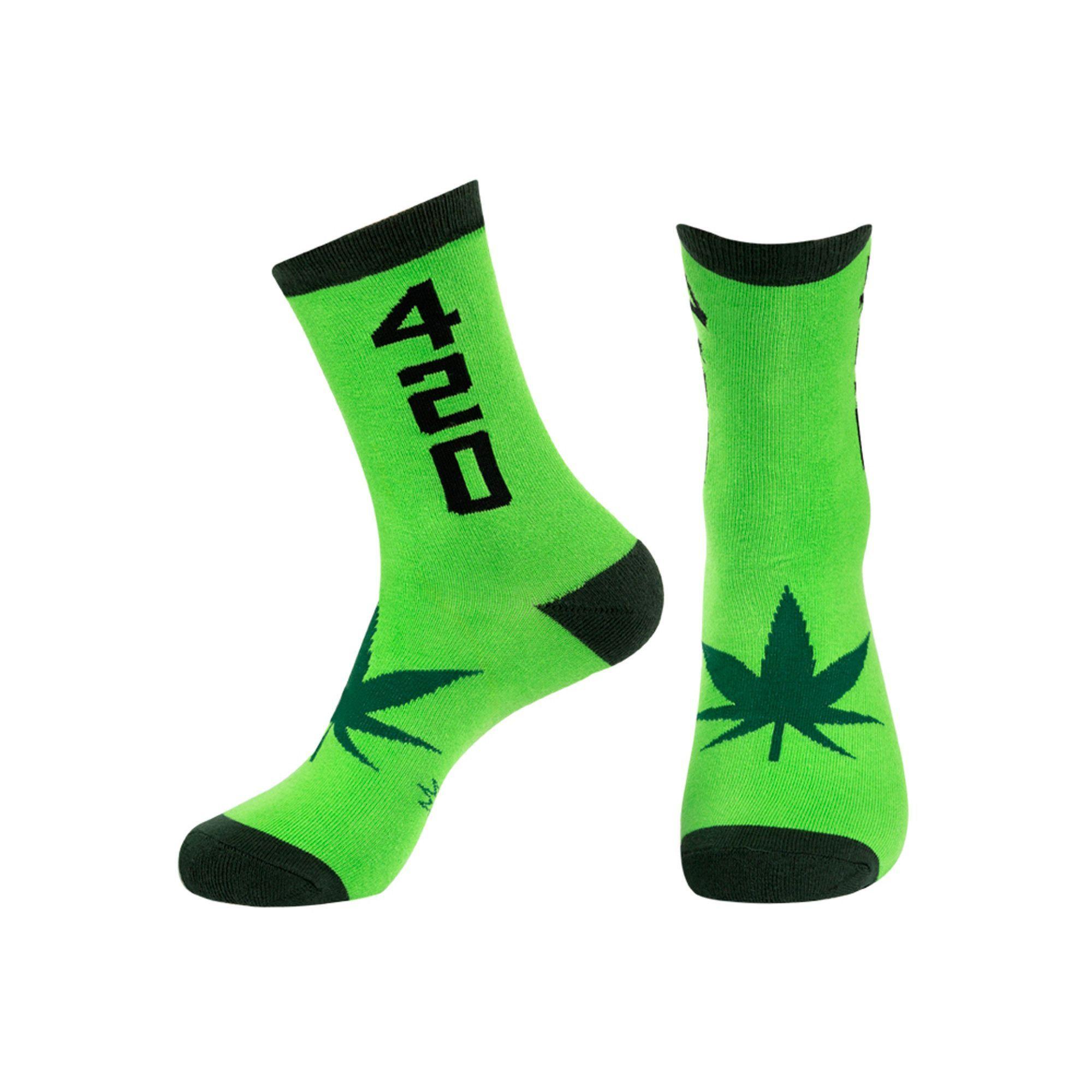 Weed Unisex Gumball Poodle Knee High Socks