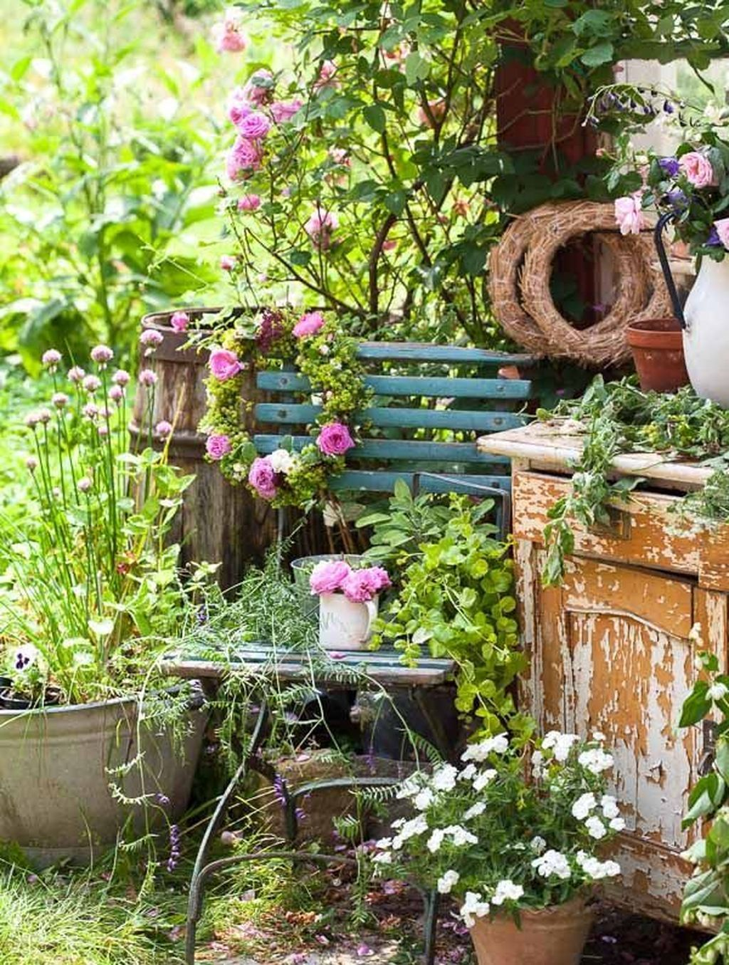 Photo of 90 Beautiful Cottage Garden Ideas to Create Perfect Spot – DoMakeover.com