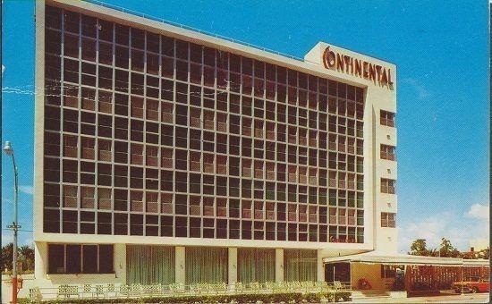 Miami Beach Hotel Continental 1950s