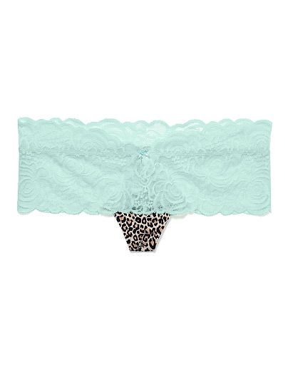 New Rose Lace Cheekster Panty PINK by Victoria's Secret
