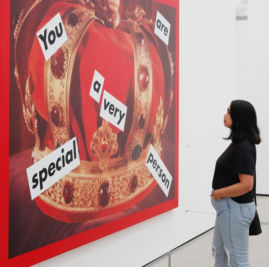 The Large Bold Artworks Of Barbarakruger Assimilate