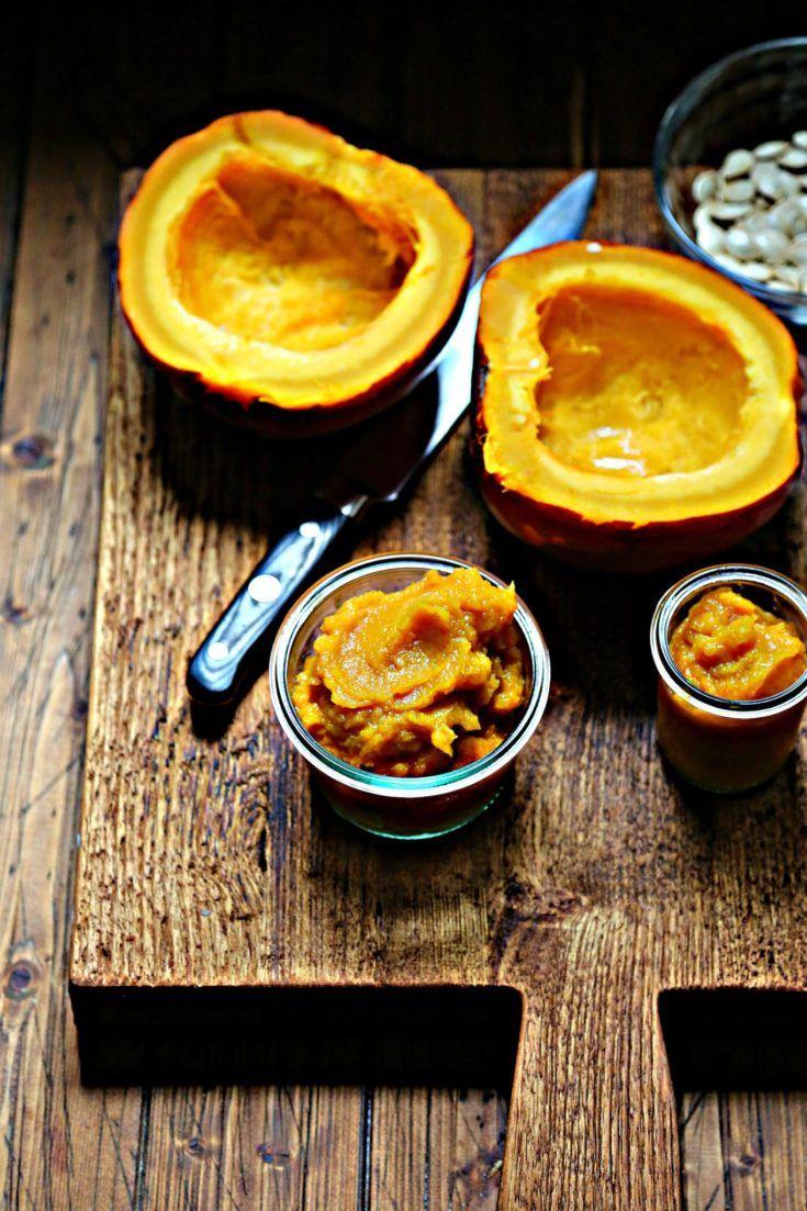Instant Pot Pumpkin Puree Recipe Pumpkin puree, Ham