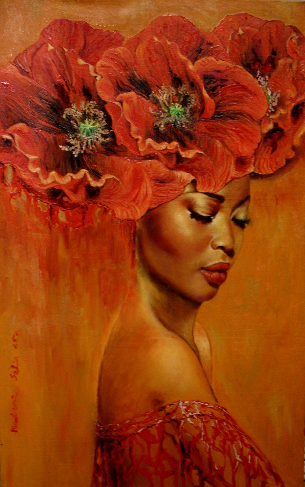 Formation Of Dreams Maratamara- Black Women Art Paintings And Street